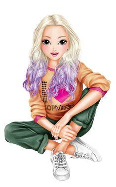 Best Friend Drawings, Girly Drawings, Cute Cartoon Girl, Cartoon Art, Lovely Girl Image, Cute Girl Drawing, Digital Art Girl, Best Friends Forever, Anime Art Girl