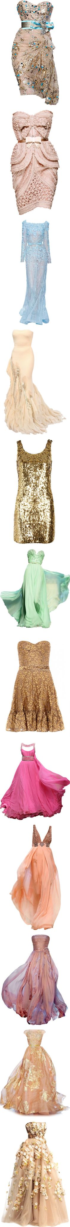 """""""Nikki's Ball gowns"""" by stylish-gal ❤ liked on Polyvore #josephine#vogel"""