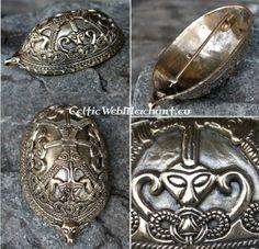 Turtle brooch Birka | Turtle brooch | celticwebmerchant Celtic & Viking and Pirkkala connected!
