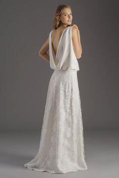 Robes de mariées.  Collection BOHÈME ROCK by David Purves. Top Jeanne + Jupe Chloé. www.bohemerock.com
