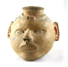 Head potsare considered to be the best of the best, and the rarest of the rare when it comes to Native American pottery by many collectors.Made during a short time period at the end of the Mississippian cultural period around 1300-1500 AD,the realism of thethese effigypotshighlightshow far the artistic ability of the Mississippians evolved.