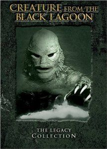 Creature From the Black Lagoon: The Legacy Collection (Creature from the Black Lagoon / Revenge of the Creature / The Creature Walks Among Us) Best Horror Movies List, Classic Horror Movies, Classic Monster Movies, Classic Monsters, Great Films, Excellent Movies, Classic Sci Fi, Legacy Collection, Black Lagoon