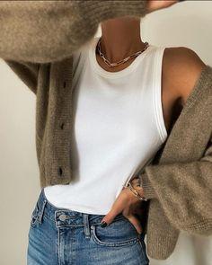 Vogue Fashion, Look Fashion, Fashion Outfits, Womens Fashion, Fall Outfits, Casual Outfits, Cute Outfits, Monochrome Fashion, Inspiration Mode