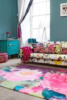 Loco el color y el Patrón del Funciona Mezclas Que REALMENTE - Cómoda Casa