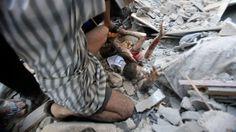 New York Times: Aug. 4, 2014 - Airstrike near U.N. school kills 10 as Israel shifts troops in Gaza