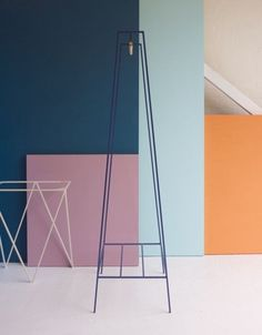 &New: Modern, Minimalist Furniture Made of Steel - Design Milk Minimalist Furniture, Minimalist Decor, New Furniture, Furniture Making, Steel Furniture, Furniture Design, Metal Clothes Rack, Clothes Rail, Color Composition