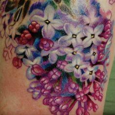 lilac tattoo designs | Caryl Cunningham › Portfolio | Detroit Tattoo Artist