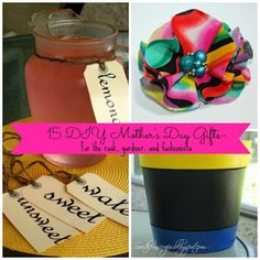 Southern Scraps : 15 Mother's Day gifts to make- for the cook, gardn...