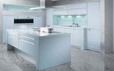 kitchen designs by ken kelly allmilmo linea laminate light blue