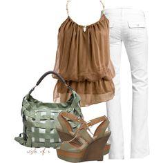 Love white jeans