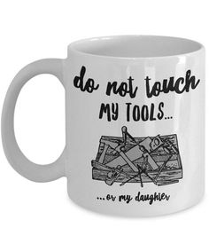 Funny Dad Coffee Mug - To Dad From Daughter - Birthday Present For Dad - Dad Gift From Daughter - Funny Dad Present - Carpenter Gift For Dad : Funny Dad Coffee Mug – Fathers Day Gift – Birthday Present For Dad – Dad Gift From Daughter – Funny Christmas Presents For Dad, Birthday Presents For Dad, Trending Christmas Gifts, Unique Birthday Gifts, Diy Birthday, Funny Birthday, Christmas Ideas, Birthday Wishes, Birthday Parties