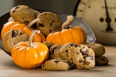 Soft and aromatic, Pumpkin Chocolate Chip Cookies pack into lunch boxes & cookie jars. Kids trade them in the school yard. Simple to mix, fast in the oven.