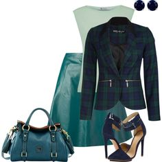 Office Meeting with the boss by bsimon623 on Polyvore featuring T By Alexander Wang, Carven, L.A.M.B., Dooney & Bourke and Reeds Jewelers