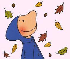 Herfst....leuke eenvoudige illustratie.