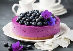 Le gâteau au fromage au bleuets, un véritable délice.
