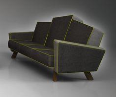Sofá Barraco. Design by Studio Renata Moura