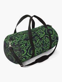 Spooky Eyes, Work Travel, Baggage, Shoulder Strap, Backpacks, Classic, Green, Bags, Derby