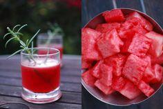 The Rosebud - watermelon, rosemary-infused vodka