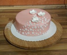 SweetLilly24: Flowing Flowers Torte Cake, Desserts, Flowers, Food, Birthday Cake Toppers, Pies, Pie, Postres, Mudpie