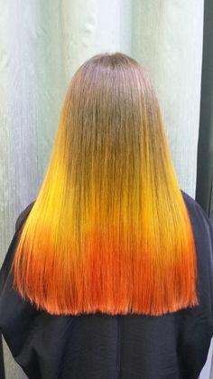 Color on fire stefanos&fratzeskos coiffure