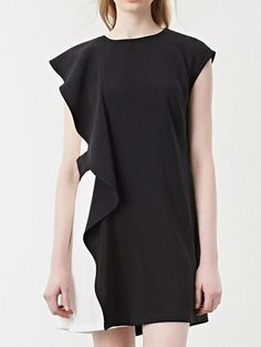 whatsmode.com  aff 365 Ruffled Color Block Crew Neck Dress  34.99 Check  this now just click the link above or contact me  WhatsMode ad6f2e791