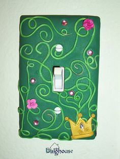light switch tutorial with polymer clay by threemoonbabies, via Flickr