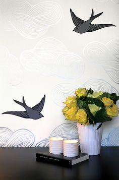 Hygge & West | Daydream (Silver) Wallpaper