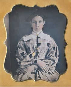These vintage photos are tintypes and daguerreotypes taken between 1840s to 1860s. Of course they came in black and white but someone took it upon himself to hand-tint the photos, and the result is incredible. Take a look…