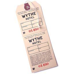 Wythe Hotel Branding on Behance