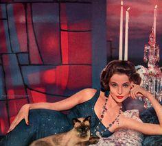 Revlon 1958 - gown by Ceil Chapman