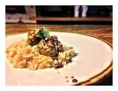 Pistachio Lamb Meatballs with Pomegranate Reduction | Tasty Kitchen: A Happy Recipe Community!