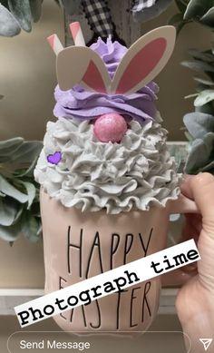 Diy Whipped Cream, Whipped Topping, Paper Cupcake, Cupcake Cakes, Creative Crafts, Fun Crafts, Cream Mugs, Fake Cake, Fake Food
