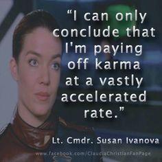Babylon 5 Quotes About Love : Ivanova - Babylon 5....