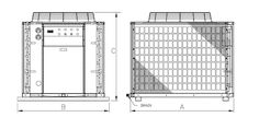Máy Làm Lạnh Nước Chiller KHAW-005SP - Tháp Giải Nhiệt KingSun Đài Loan