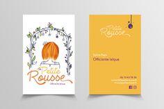 Illustration (en collaboration avec jibepict) logo et carte de visite - La petite Rousse Logo, Illustration, Nantes, Carte De Visite, Logos, Illustrations, Environmental Print
