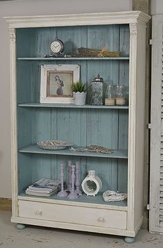 Rustic Shabby Chic Dutch Bookcase artwork