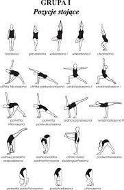 Image result for plakaty joga asany