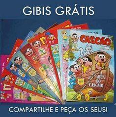 Pedagogia Brasil: Amostras Grátis Gibis Turma da Mônica