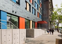 New York studio Alexander Gorlin Architects has completed a Bronx apartment block with small studios for low-income tenants, including the formerly homeless