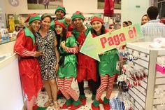 Los DUENDES siguen regalando compras !!! Ayer estuvieron en la Tienda EPK COLOMBIA y pagaron la compra de la Señora Manuela Muentes la Font !  El próximo puedes ser tú !  Feliz Navidad les desea Alamedas Centro Comercial #Piensaenti
