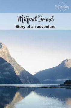 L'histoire d'une aventure au coeur du fjord de Milford Sound : une merveille !   #Mustdo #NZ #MilfordSound #croisière #randonnée #MitrePeak #NZ #NZmustdo #NouvelleZelande #NewZealand #Travel #roadtrip #Southisland Road Trip, Milford Sound, Fjord, Mountains, Nature, Travel, Adventure, Naturaleza, Viajes