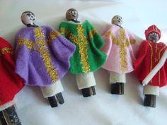Priest Peg Dolls