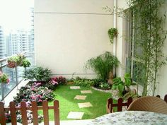 Condo Patio Garden Ideas sharetweetpin Condo Garden