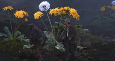 AKIRA KUROSAWA . DREAMS (THE WEEPING DEMON)  (Danish Film Institute - Flowers in Film Stills/ An Exhibition)