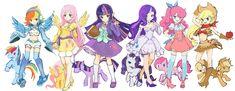 my little pony anime - Buscar con Google
