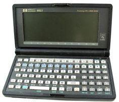 Hewlett Packard HP 100LX Palmtop  Personal Computer.