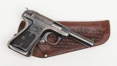 Savage Model 1917 semi-auto pistol, .380 cal