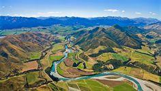 Alpine Pacific South Island New Zealand