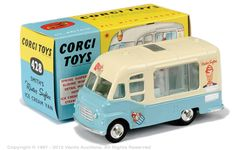 Corgi 428 Karrier Mr. Softee van