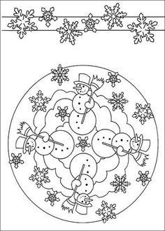 Disegni da Colorare Mandalas 9